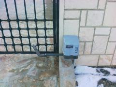 Автоматика за двукрила радиална врата